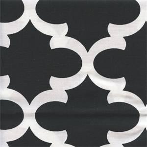 Fynn Black White Contemporary Drapery Fabric by Premier Prints 30 Yard Bolt