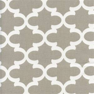Fulton Ecru Contemporary Drapery Fabric by Premier Prints 30 Yard Bolt
