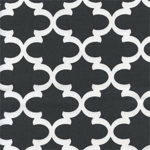 Fulton Shadow Black Contemporary Drapery Fabric by Premier Prints 30 Yard Bolt