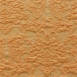 Dierdre Mango Solid Pink Orange Textured Drapery Fabric