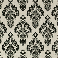 Avery Linen/Black by Premier Prints - Drapery Fabric