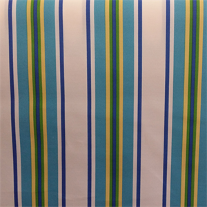 Trudy Lake Blue Fresco Stripe Indoor Outdoor Upholstery Fabric by ...