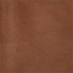 Pecos Solid Brown Faux Leather Upholstery Fabric 54121