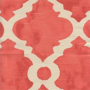 Madrid Salmon Natural Slub Contemporary Drapery Fabric by Premier Prints 30 Yard Bolt