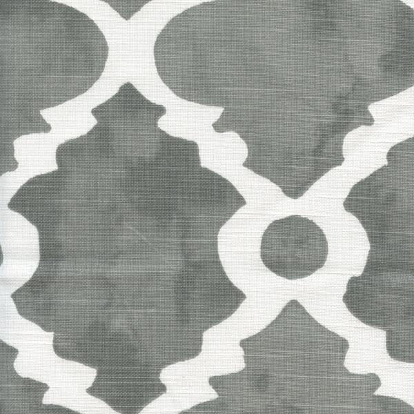 Premier Prints Madrid Slub Summerland Grey. Sale Straight Valance 29 Wide x 18 Long