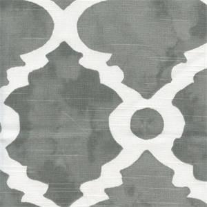 Madrid Summerland Grey Slub Contemporary Drapery Fabric by Premier Prints