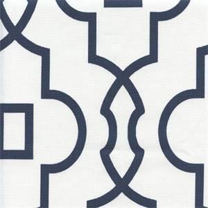 Bordeaux Premier Navy Contemporary Drapery Fabric by Premier Prints
