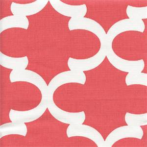 Fynn Coral Contemporary Drapery Fabric by Premier Prints 30 Yard Bolt