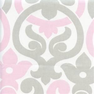 Alex Bella French Grey Twill Contemporary Print Drapery Fabric by Premier Prints 30 Yard Bolt