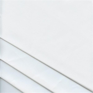 Sheeting White Extra Wide Cotton Sheeting Drapery Fabric Swatch
