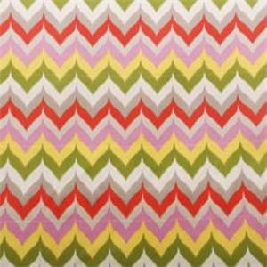 Glamis Fresco Coral Ikat Outdoor Fabric By Swavelle