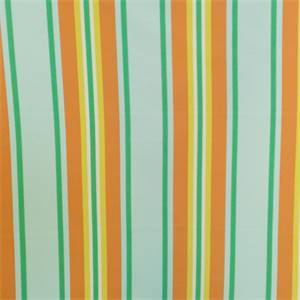 Trudy Fresco Aqua Orange Outdoor Fabric by Swavelle