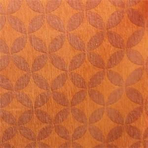DDR Kitzbuehe Orange #605 Contemporary Upholstery Fabric by P Kaufmann