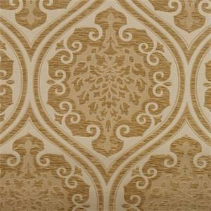 Diana Ivory Damask Chenille Upholstery Fabric