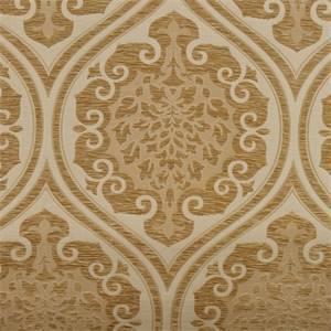 Diana Ivory Damask Chenille Upholstery Fabric