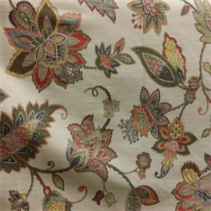 Richmond Hill Federal Floral Upholstery Fabric