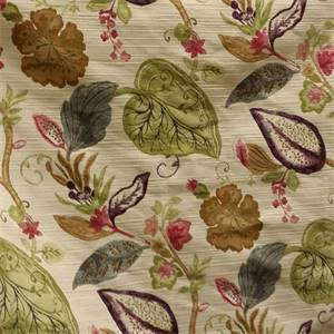 Primovera Leaf Floral Upholstery Fabric