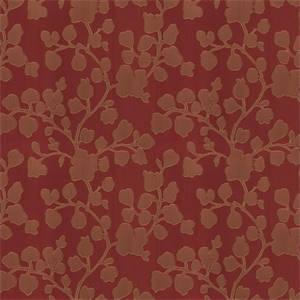 03500-VY Brick Floral Drapery Fabric by Trend Fabrics