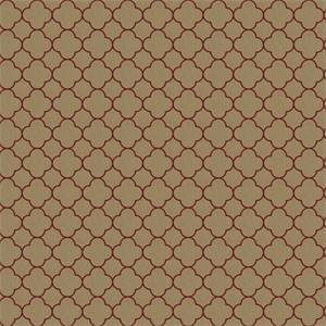 03497-VY Brick Contemporary Drapery Fabric by Trend Fabrics