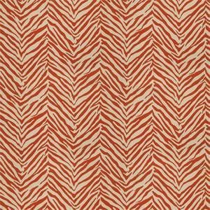 03509-VY Orange Animal Print Drapery Fabric by Trend Fabrics