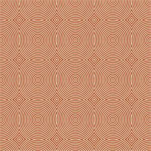 03501-VY Orange Circle Upholstery Fabric by Trend Fabrics
