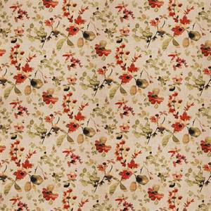 03511-VY Spice Floral Drapery Fabric by Trend Fabrics