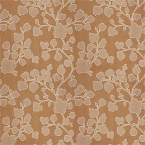 03500-VY Sesame Floral Drapery Fabric by Trend Fabrics