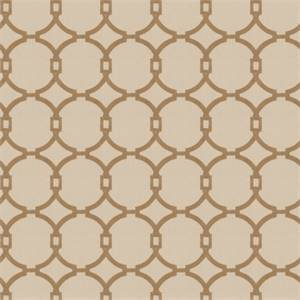 03496-VY Tan Embroidered Drapery Fabric by Trend Fabrics