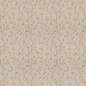 03503-VY Golden Embroidered Floral Drapery Fabric by Trend Fabrics