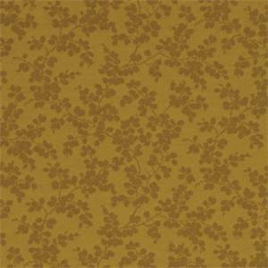 Shadow Brook Autumn Brown Floral Drapery Fabric by Robert Allen
