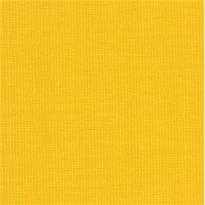 Eco Chic Sunflower Yellow Solid Cotton Denim Slipcover