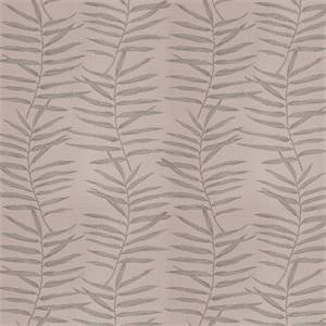 03515-VY Grey Floral Drapery Fabric by Trend Fabrics