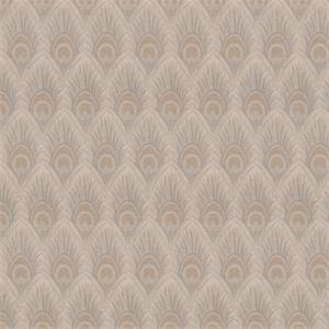 03518-VY Natural Feather Print Upholstery Fabric by Trend Fabrics