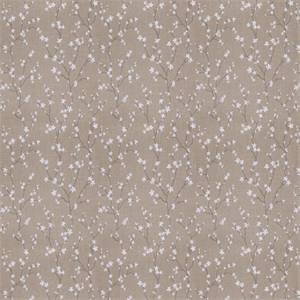 03503-VY Grey Embroidered Floral Drapery Fabric by Trend Fabrics