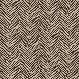 03509-VY Black Animal Print Drapery Fabric by Trend Fabrics