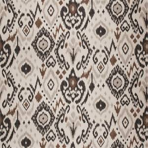 03510-VY Black Ikat Drapery Fabric by Trend Fabrics