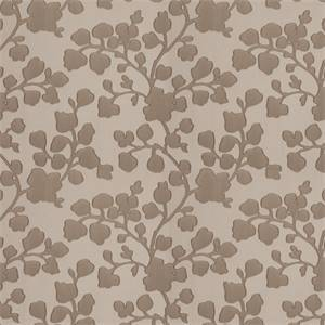 03500-VY Linen Floral Drapery Fabric by Trend Fabrics