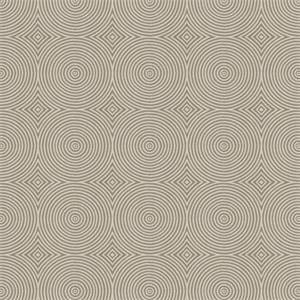 03502-VY Silver Haze Circle Upholstery Fabric by Trend Fabrics