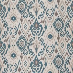 03510-VY Ocean Ikat Drapery Fabric by Trend Fabrics