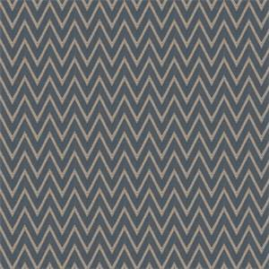 03506-VY Navy Chevron Upholstery Fabric by Trend Fabrics