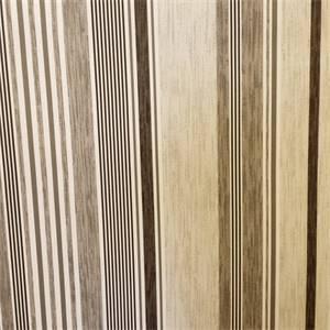 Borderline Gunmetal Gray Cotton Stripe Drapery Fabric
