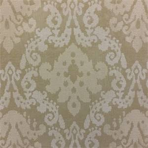 Helsinki Linen Tan Woven Ikat Upholstery Fabric  by Richloom Platinum Fabrics