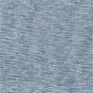 Venice Indigo Solid Blue Chenille Upholstery Fabric by Roth and Thompkins