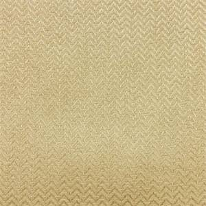 Harrington Wheat Gold Chevron Upholstery Fabric By Roth & Tompkins