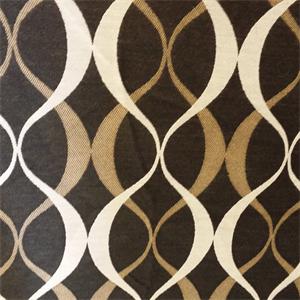 Duo Noir Black Geometric Design Indoor Outdoor Upholstery Fabric by  Richloom Platinum Fabrics ?