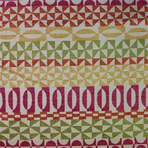 Martha Levinson Pink Contemporary Upholstery Fabric