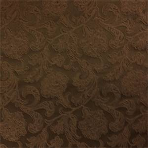 Thomas Barrow Brown Floral Upholstery Fabric
