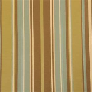 Jack Ross Green Stripe Upholstery Fabric 56254