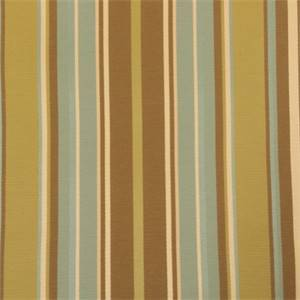 Jack Ross Green Stripe Upholstery Fabric