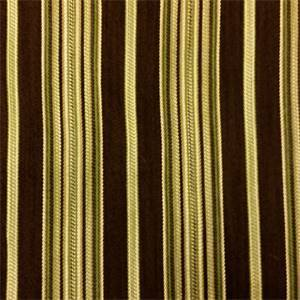 Violet Crawley Brown Stripe Upholstery Fabric